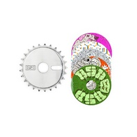 BSD Sticker Bomb Sprocket / Black / 25T
