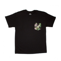 Locals Only Tropical Pocket Tee / Small