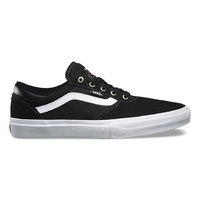 Vans Gilbert Crockett Blk/Wht/Red / 8