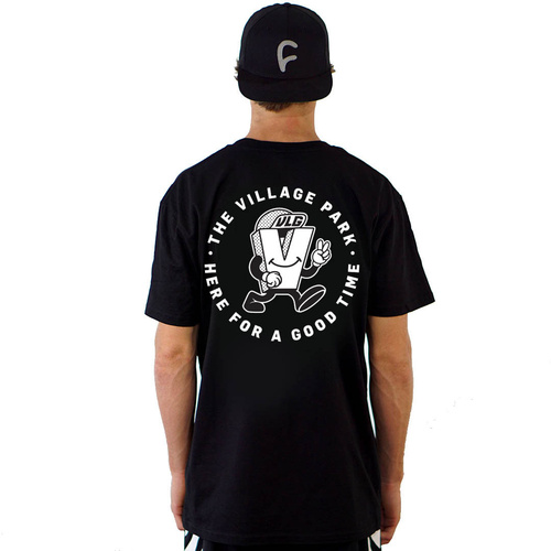 The Village Goodtime Tee | Black