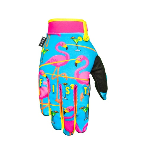Fist Lazered Flamingo Gloves