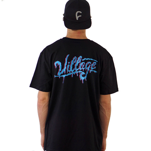 The Village Melting Tee | Black